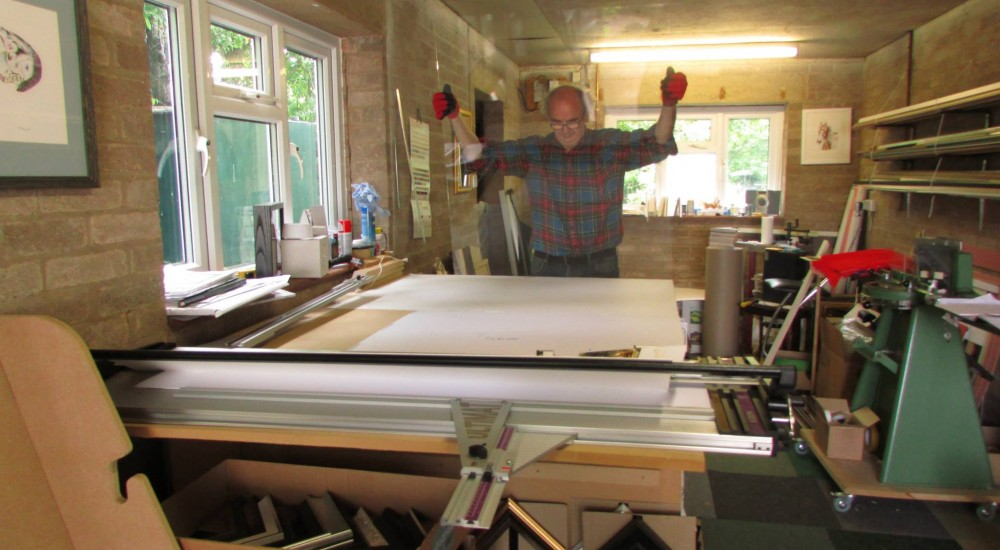 All kinds of glass... - Farrell\'s Framings framing and mounting ...